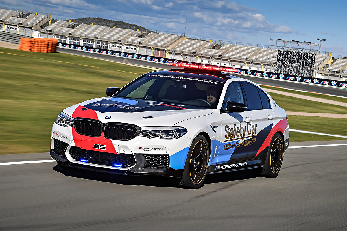 TopGear | See the BMW M5 MotoGP Safety Car up close