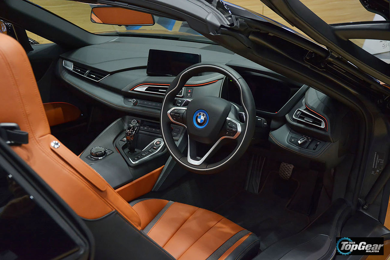 Topgear Bmw I8 Roadster Launched In Malaysia