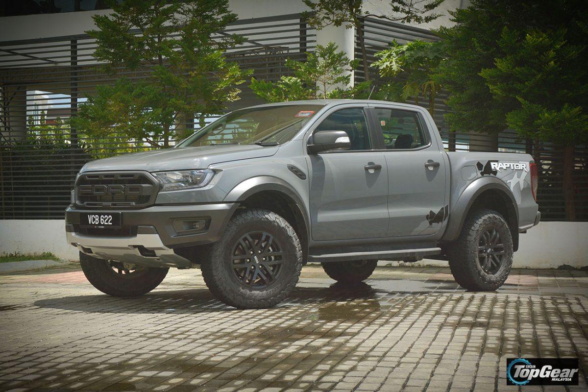 Topgear Test Drive Ford Ranger Raptor