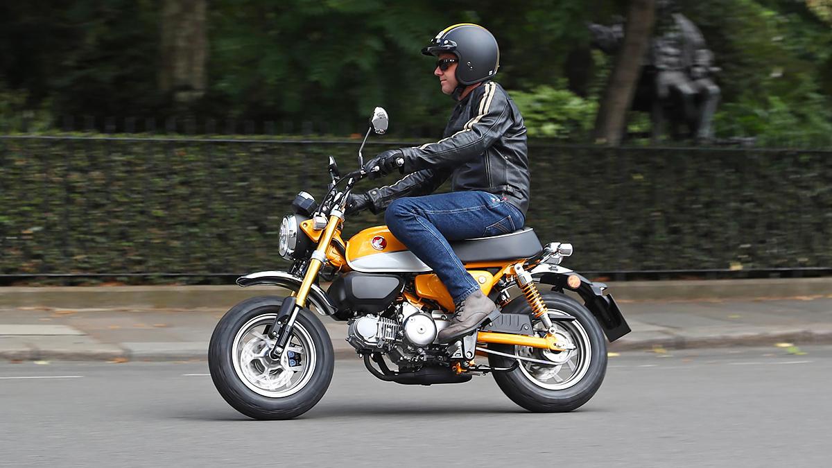 Topgear Honda Monkey Review Reborn Japanese Icon Ridden