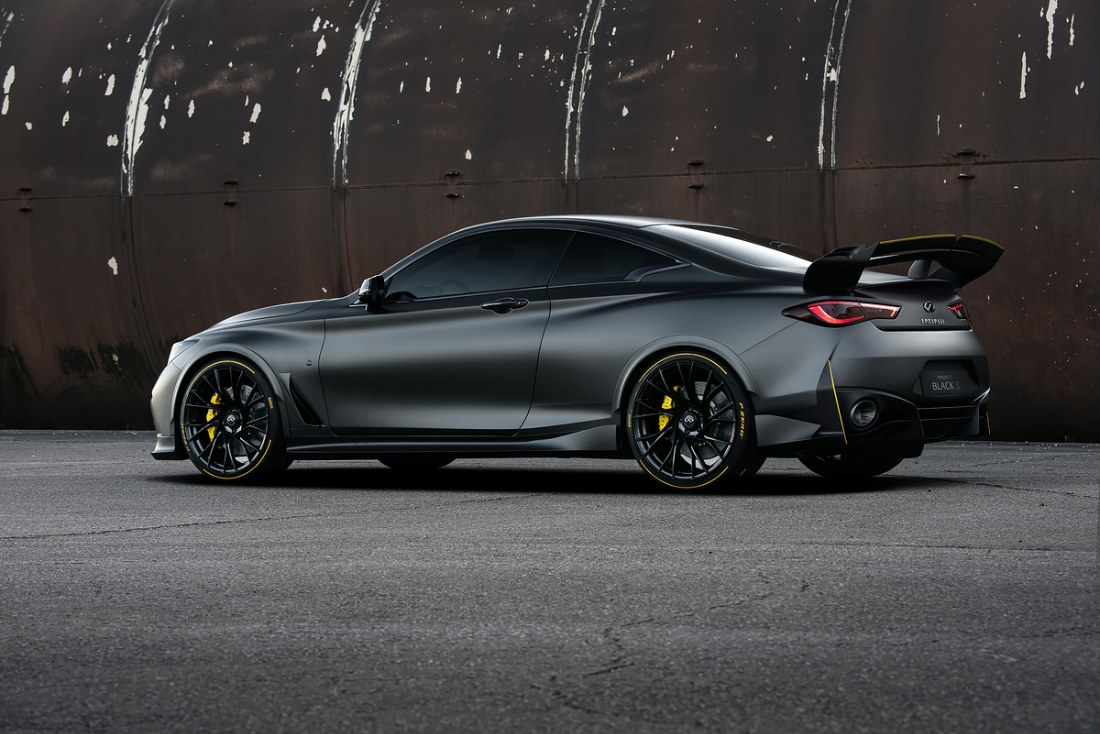 topgear | infiniti's project black s is a 563bhp q60 with
