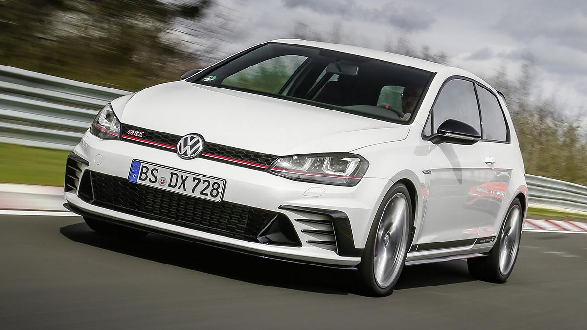 topgear review the vw golf gti clubsport s on the road. Black Bedroom Furniture Sets. Home Design Ideas