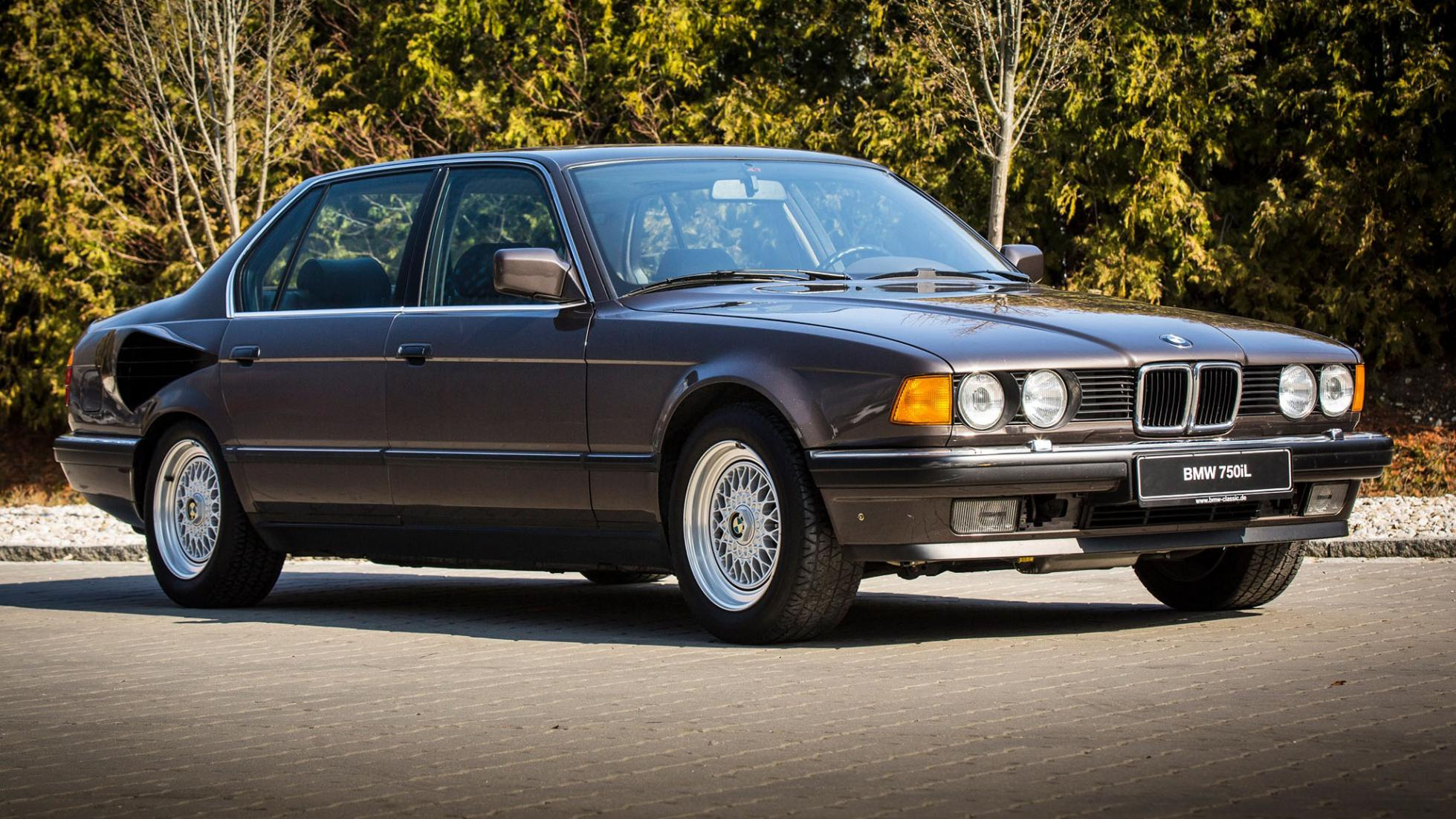 This amazing one-off BMW 7 Series has a V16 engine