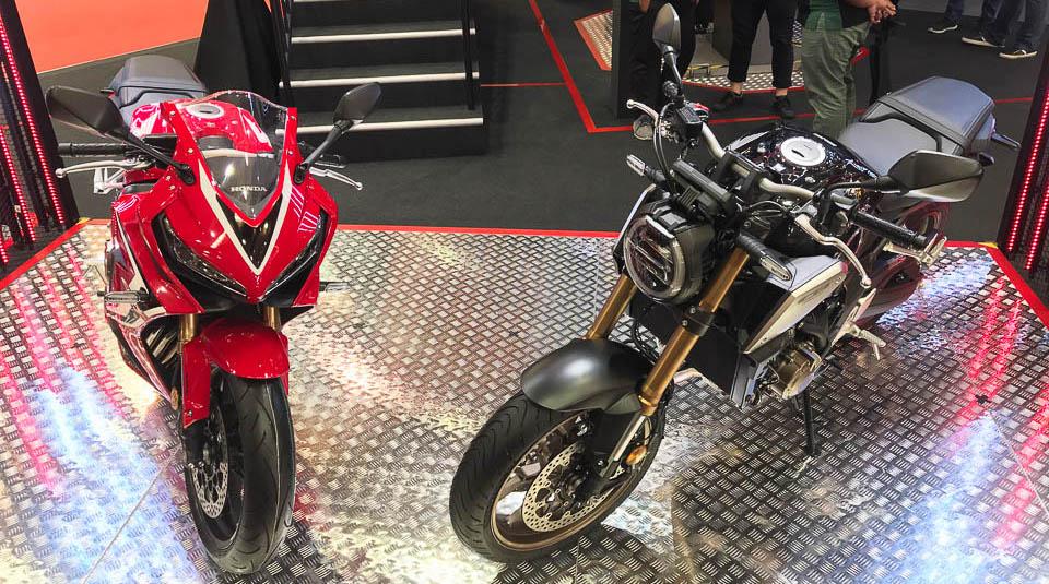 Topgear Honda Cbr650r And Cb650r Introduced