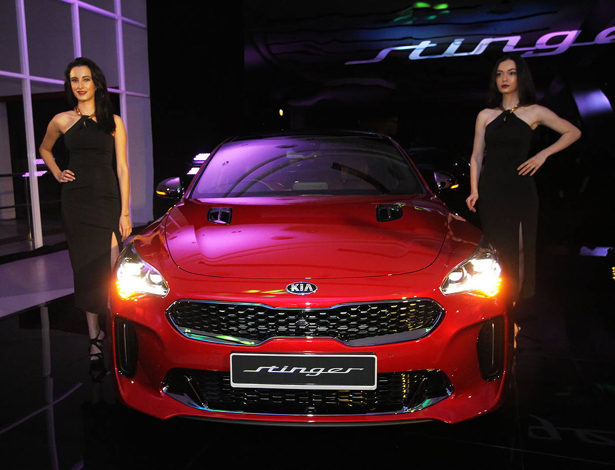 Kia Stinger launch