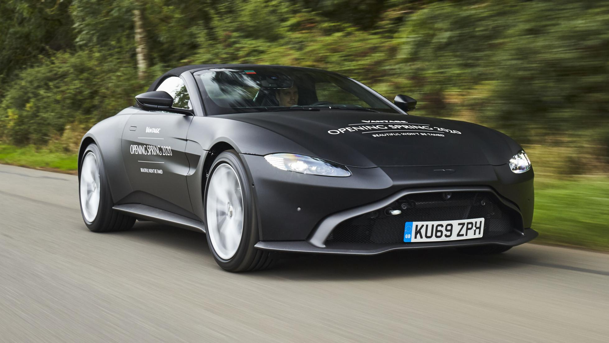Here's your first official look at the new Aston Vantage Roadster