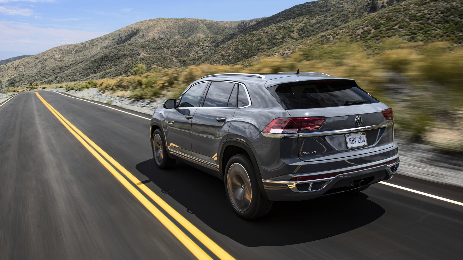 The VW Atlas Cross Sport is a US-only SUV/Coupe thing
