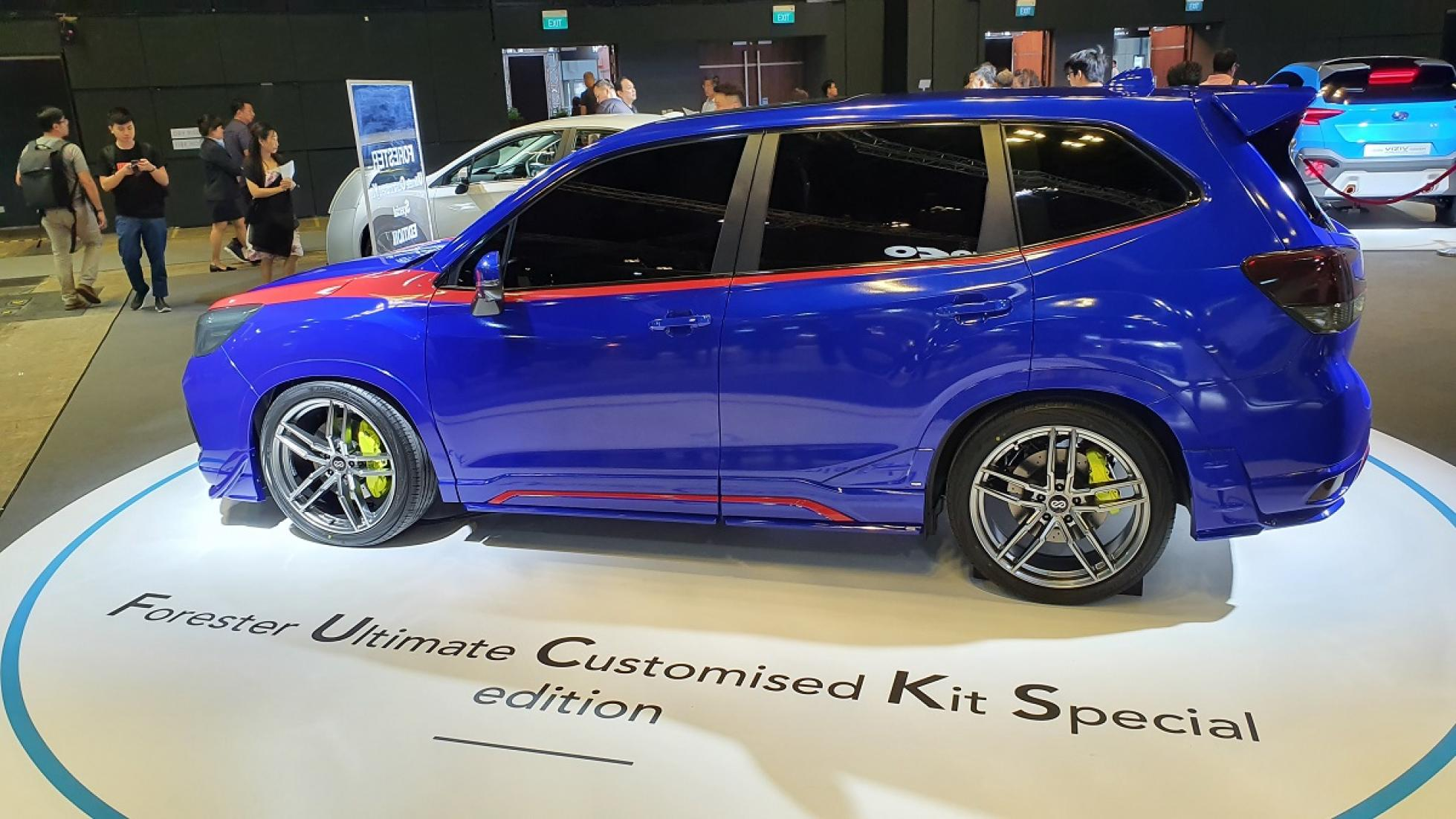 1. Subaru Forester Ultimate Customized Kit Special