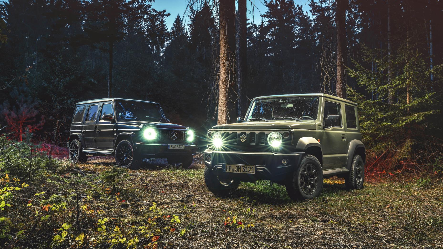Mercedes-AMG G63 and Suzuki Jimny: TG mag's Apocalypse Survival Tools of the Year