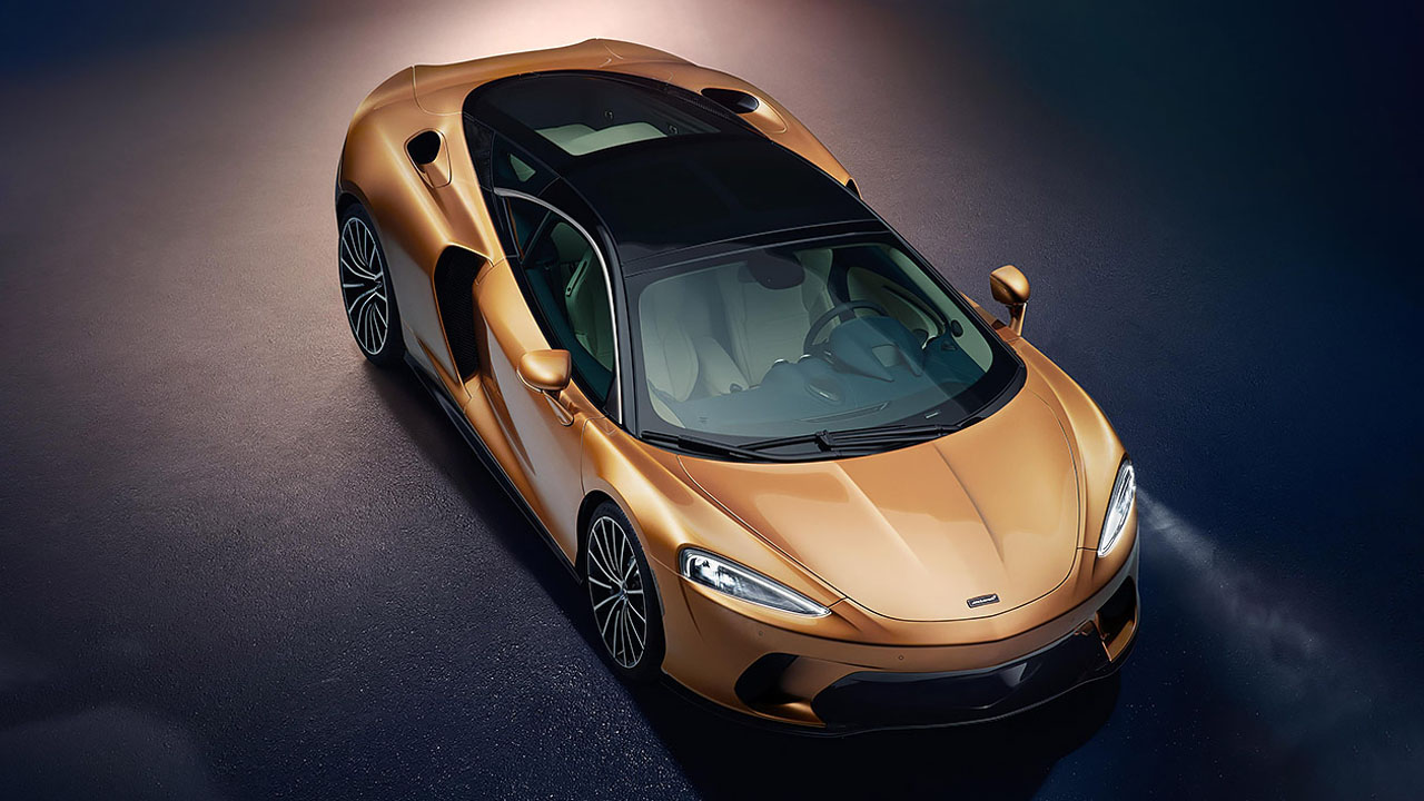 This is the McLaren GT