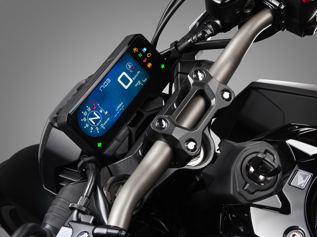 2021 Honda CB650R LCD screen