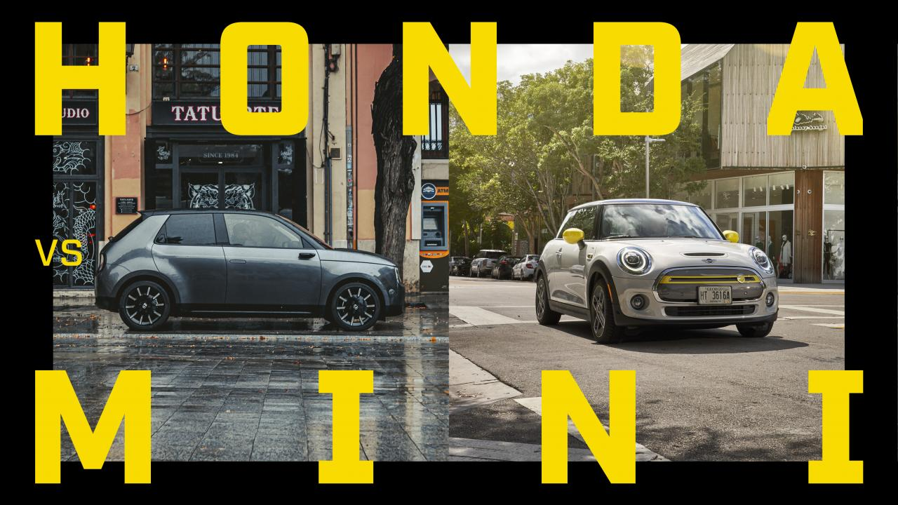 EV Battle: Honda e vs Mini Electric