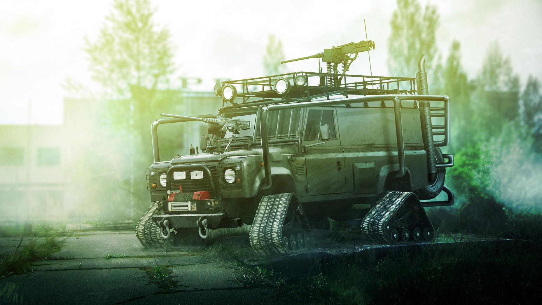 5. Land Rover Defender
