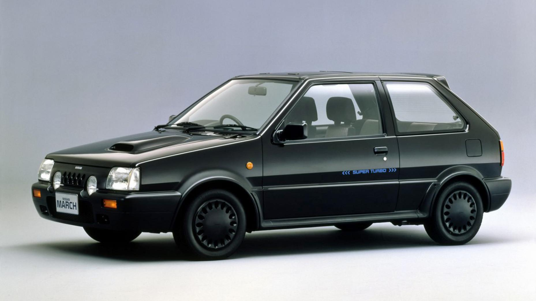 6. Nissan March Super Turbo