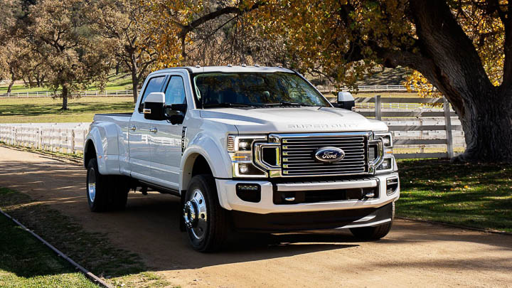 9. Ford F-Series Super Duty