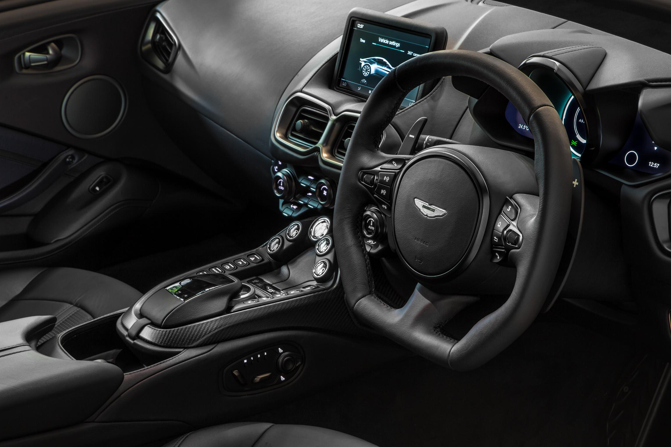 Topgear This Is The Aston Martin Vantage Dark Knight Edition