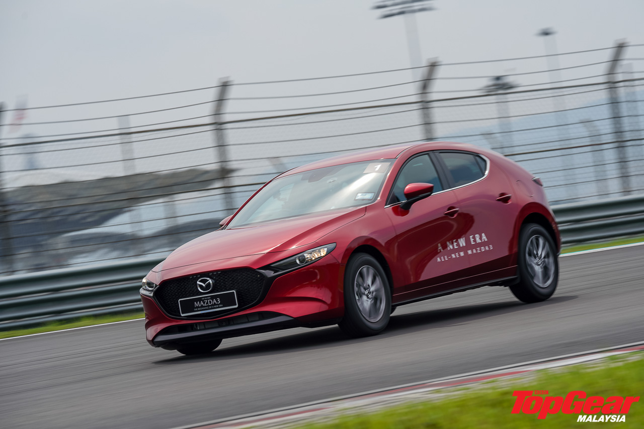 What it was like to drive the new Mazda3 around Sepang