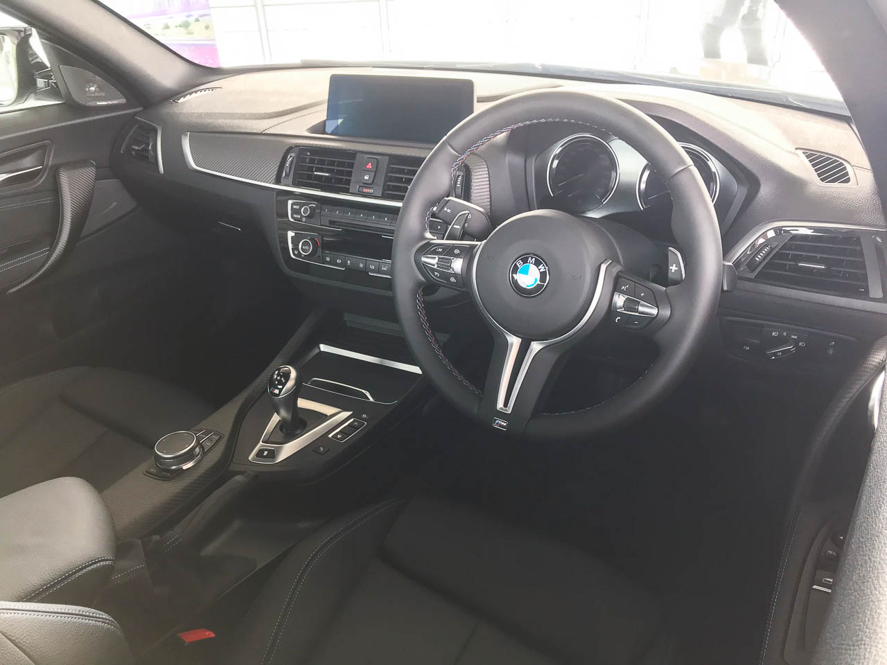 2019 BMW M2 Competition cabin.