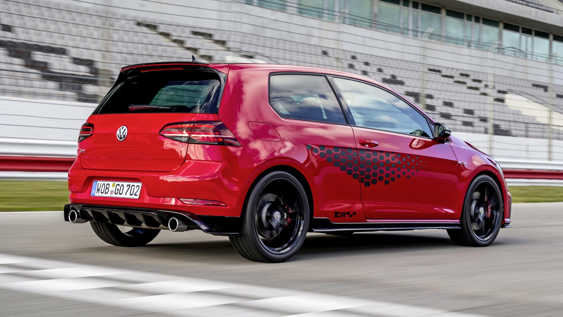 Topgear Vw Golf Gti Tcr Review Harder Edged Hot Hatch Driven