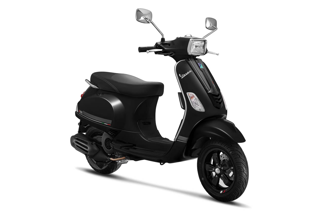 2019 Vespa S125 Carbon Edition