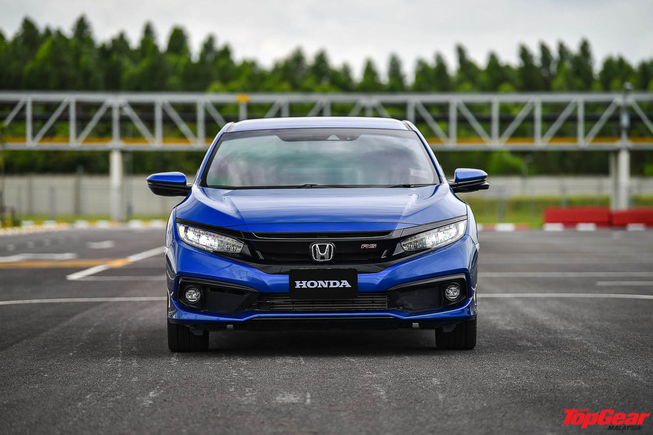Honda Civic with Honda SENSING