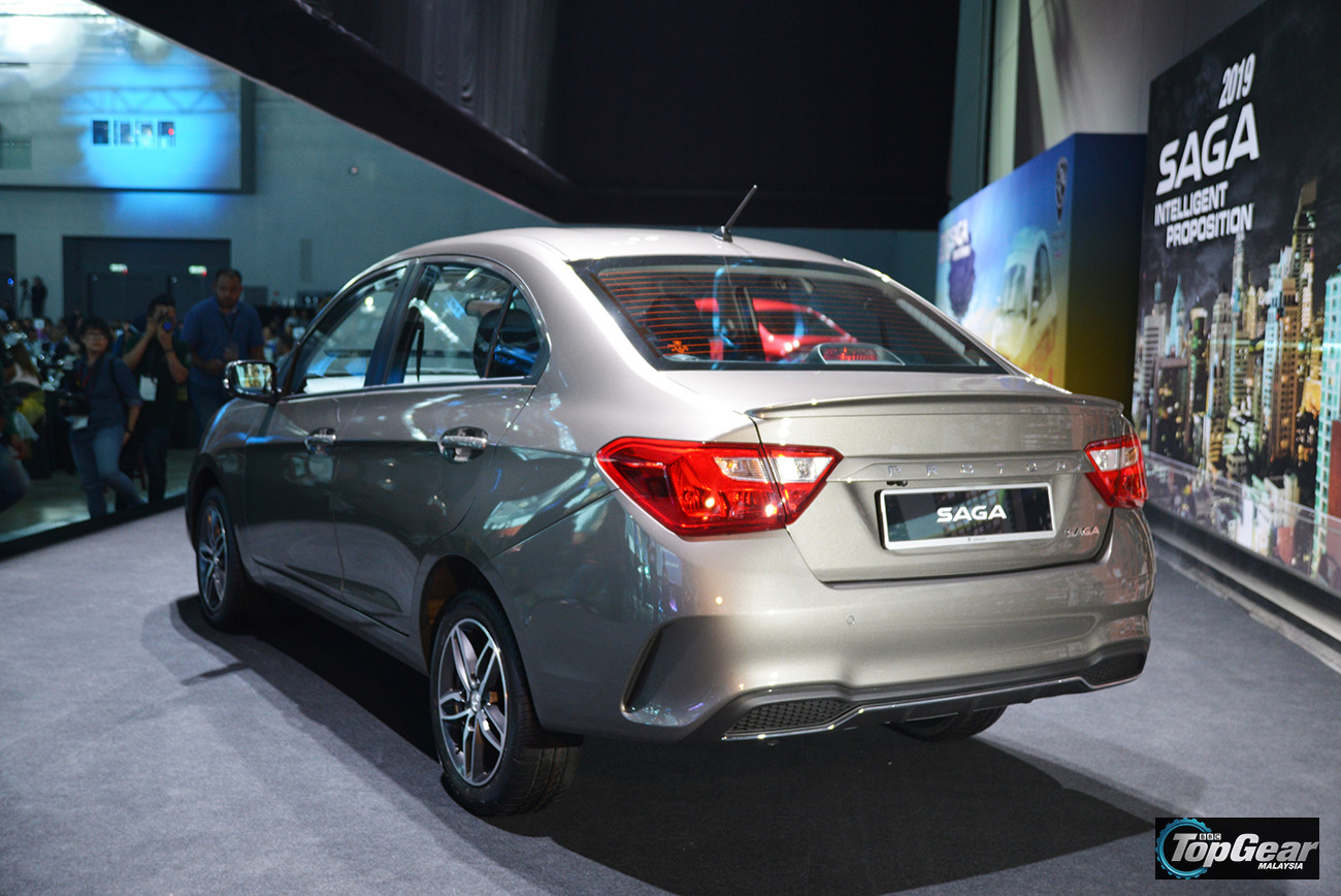 Topgear 2019 Proton Saga Facelift Launched