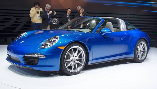 Meet the new Porsche 911 Targa