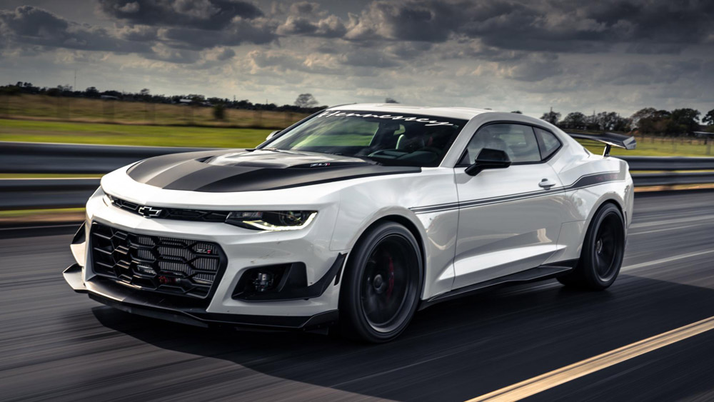 Topgear Hennessey Exorcist Review 1 000bhp Camaro Tested