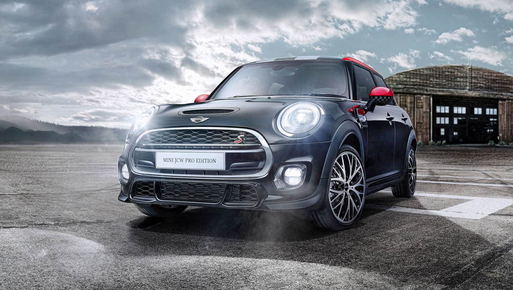 Topgear Introducing The New Mini Jcw Pro Edition