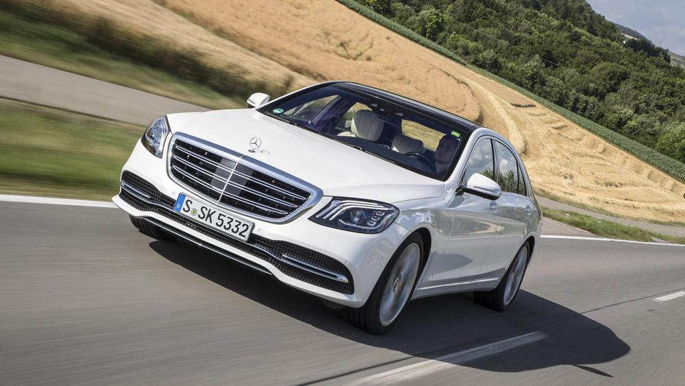 topgear | mercedes-benz s-class review: new self-driving tech tested