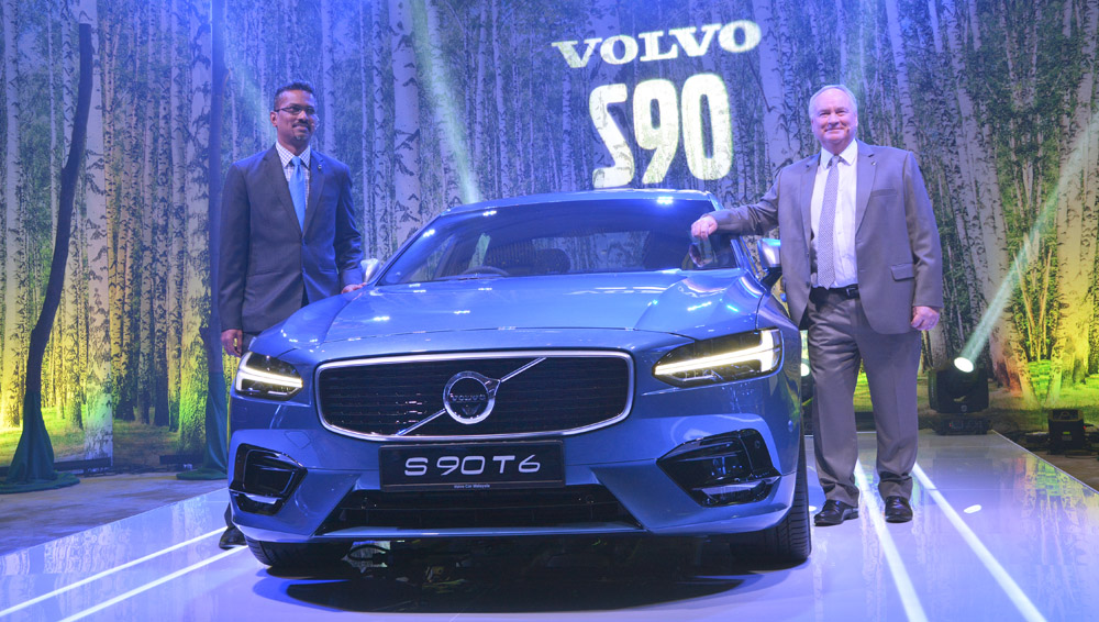 VolvoS90 V90 Launch cover