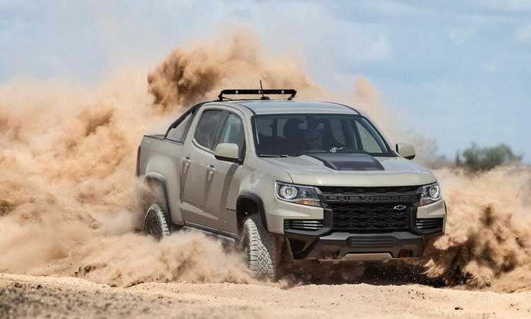 Americans: the new Chevrolet Colorado ZR2 is very angry