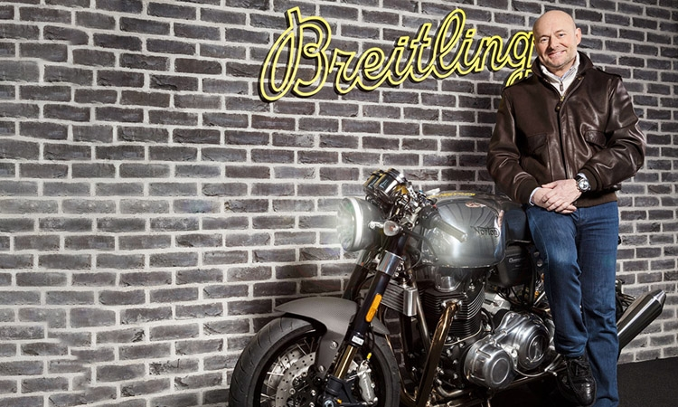 Breitling-Norton partnership