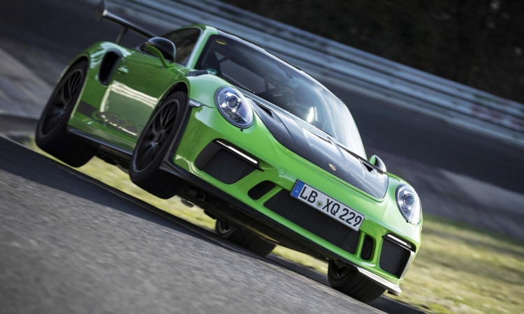 Porsche 911 GT3 RS Ring record