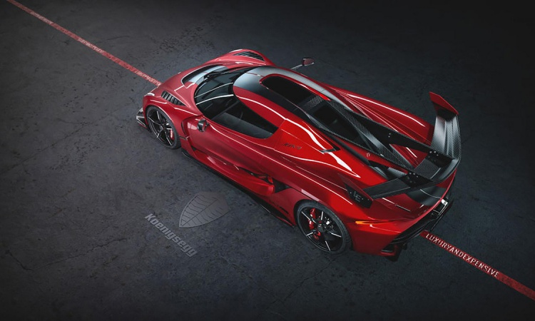 Koenigsegg Jesko 'Red Cherry Edition'