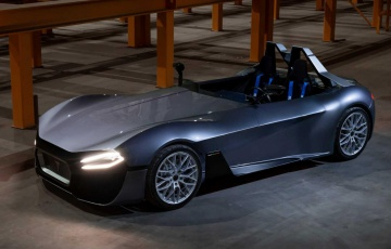 The Kinetik 07 is a Bulgarian take on the Tesla Roadster